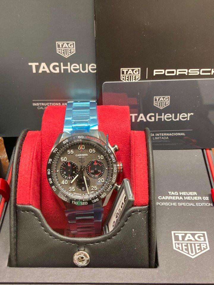 TAG Heuer Carrera Porsche Chronograph Special Edition CBN2A1F.BA0643 2021 new