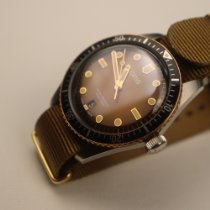 Oris Divers Sixty Five pre-owned 40mm Brown Date Leather