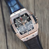 Hublot pre-owned Automatic 42mm Transparent Sapphire crystal 10 ATM