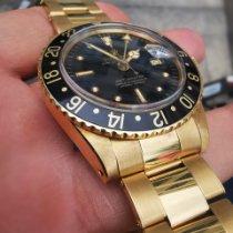 Rolex GMT-Master Gelbgold 40mm Keine Ziffern Schweiz, B