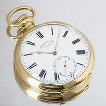 Vacheron Constantin Reloj usados 1910 Oro amarillo 57mm Romanos Cuerda manual Solo el reloj