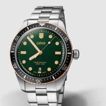 Oris Divers Sixty Five Steel 40mm Green No numerals United States of America, New Jersey, Princeton