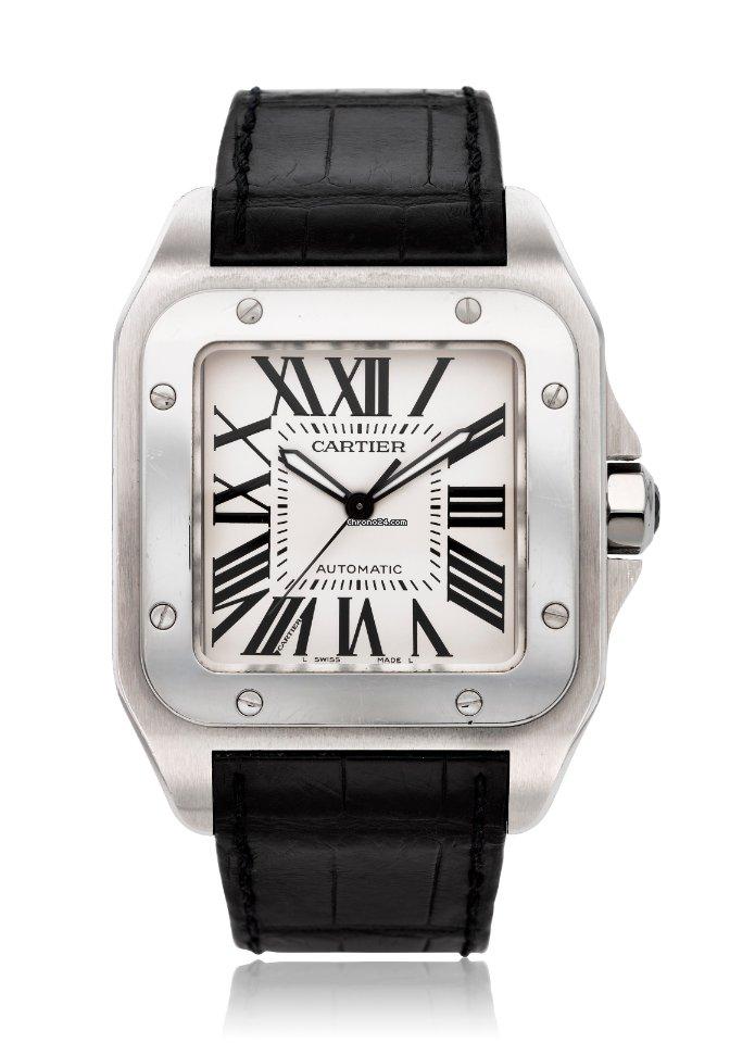 Cartier Santos 100 2656 pre-owned