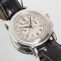 Patek Philippe Chronograph 5070G-001 Nagyon jó Fehérarany 42mm Kézi felhúzás