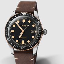 Oris Divers Sixty Five Steel 42mm Black No numerals United States of America, New Jersey, Princeton