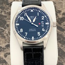 IWC Pilot Mark pre-owned 41mm Black Date Buckle