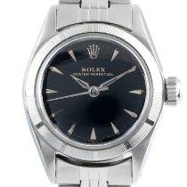 Rolex Oyster Perpetual 26 Steel 26mm Black