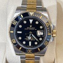 Rolex Submariner Date 116613LN Muito bom Ouro/Aço 40mm Automático
