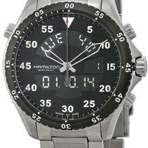Hamilton Khaki Flight Timer Steel 40mm Black