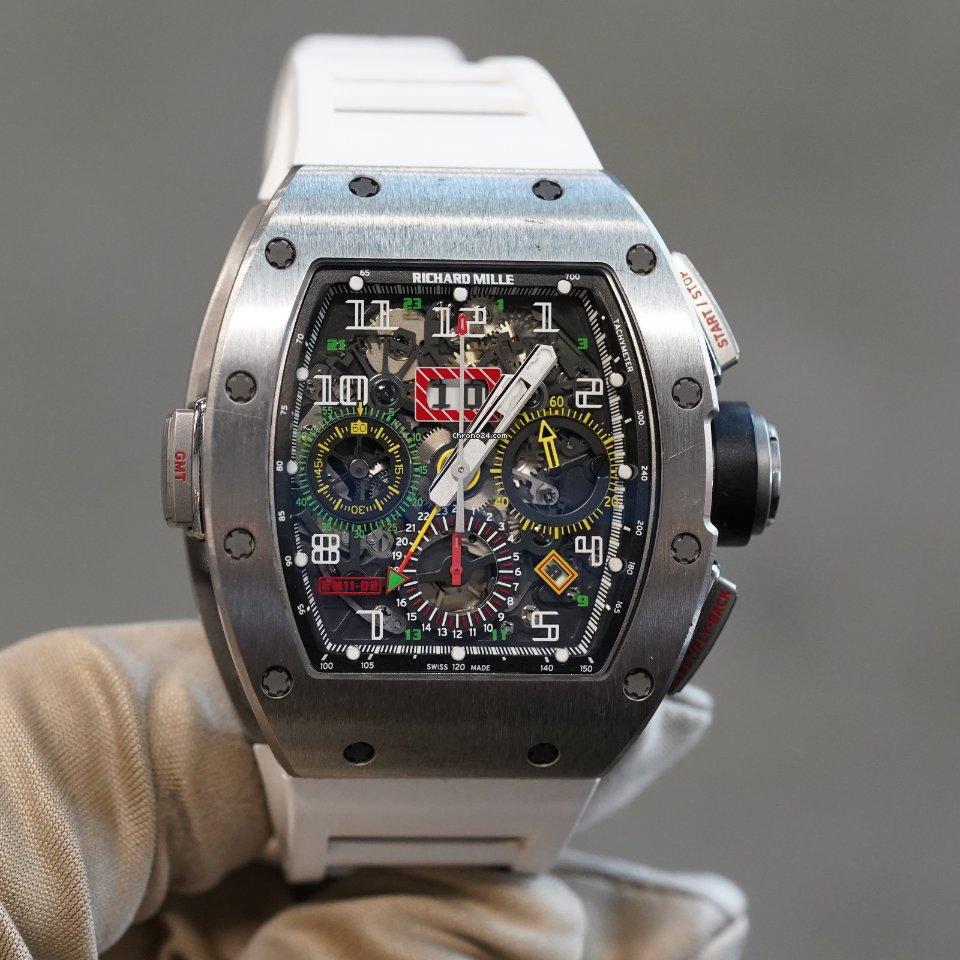 Richard Mille RM 011 rm11-02 usados