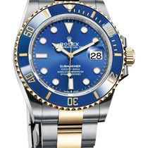 Rolex Submariner Date Gold/Steel 41mm Blue No numerals United States of America, New York, New York
