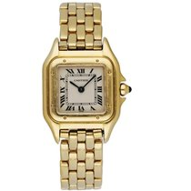 Cartier Panthère Yellow gold 22mm White Roman numerals United States of America, New York, Brooklyn
