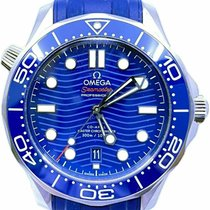 Omega Seamaster Diver 300 M Steel 42mm Blue No numerals United States of America, Florida, Naples