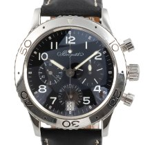 Breguet pre-owned Automatic 40mm Black Sapphire crystal