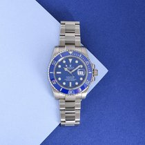 Rolex 116619LB White gold 2008 Submariner Date 40mm pre-owned