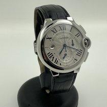 Cartier Ballon Bleu 44mm Сталь 44mm Белый Римские