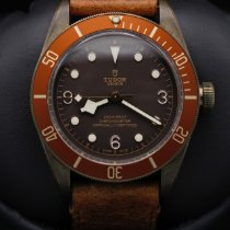 Tudor Black Bay Bronze pre-owned 43mm Brown Date Leather