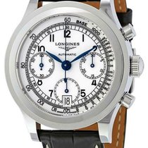 Longines Heritage new Automatic Chronograph Watch with original box and original papers L27684132 L2.768.4.13.2