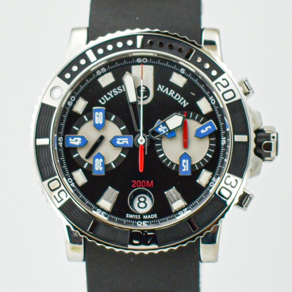 Ulysse Nardin Maxi Marine Diver 8003-102-3/92 2009 pre-owned