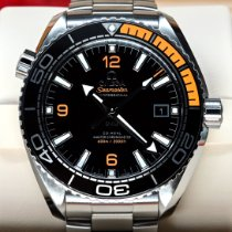 歐米茄 Seamaster Planet Ocean 鋼 43.5mm 黑色 阿拉伯數字