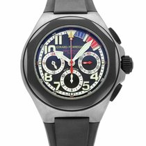 Girard Perregaux Laureato new Automatic Chronograph Watch with original box and original papers 80175-28-022Y-FK6A