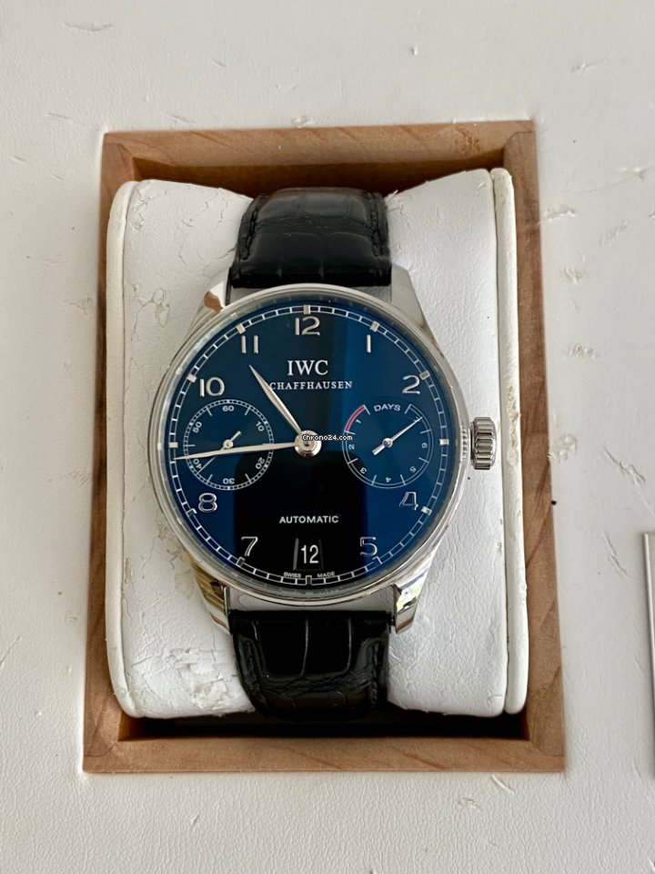 IWC Portuguese Automatic IW500109 2004 pre-owned