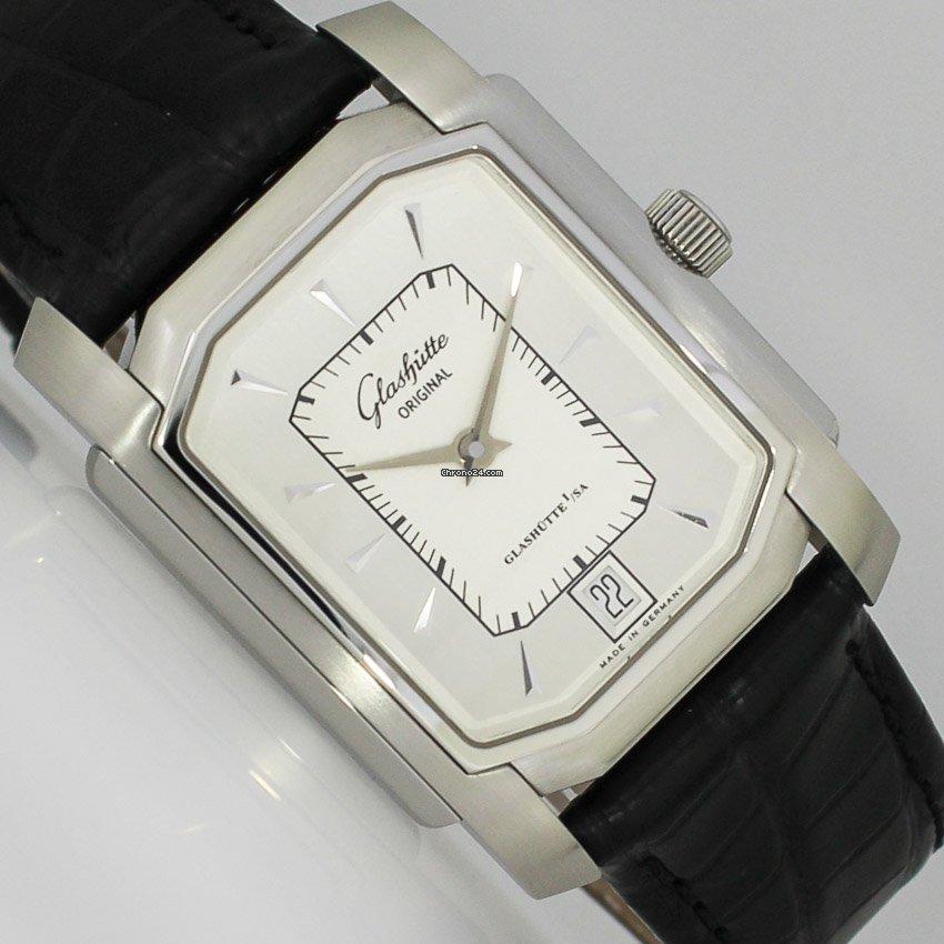 Glashütte Original Senator Karrée 3920010104 2002 gebraucht