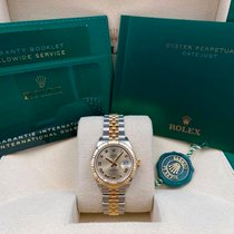 Rolex Steel Automatic Champagne No numerals 28mm new Lady-Datejust