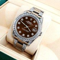 Rolex Datejust Steel 36mm Brown United States of America, New York, New York