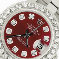 Rolex Oyster Perpetual Lady Date Steel 26mm Red United States of America, New York, New York