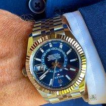Rolex Sky-Dweller Steel 42mm Blue No numerals