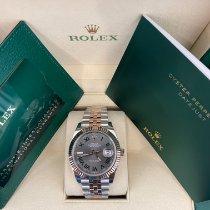 Rolex Datejust II Gold/Steel 41mm Grey No numerals
