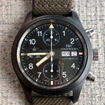 IWC 세라믹 자동 39mm 중고시계 파일럿 크로노그래프