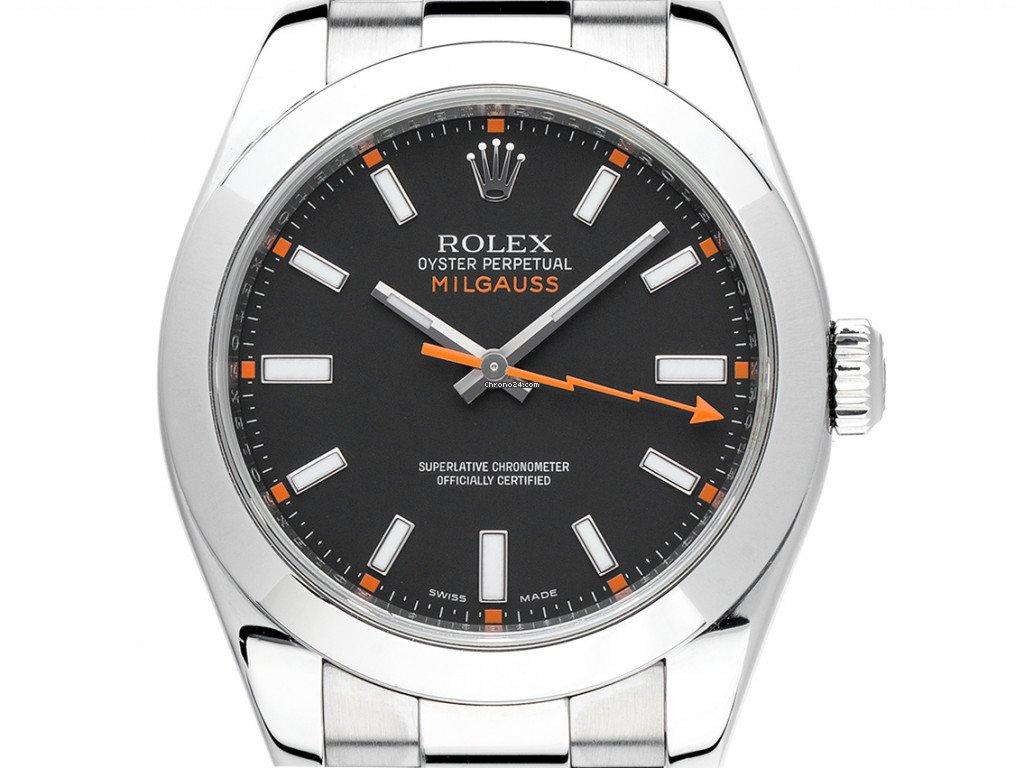 Rolex Milgauss 116400 2012 pre-owned