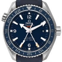 Omega Automatic Blue Arabic numerals pre-owned Seamaster Planet Ocean