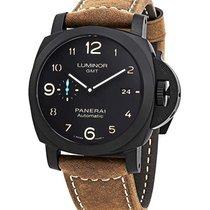 Panerai Luminor 1950 3 Days GMT Automatic neu Automatik Uhr mit Original-Box und Original-Papieren PAM01441