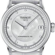 Tissot Luxury Automatic Сталь 33mm Перламутровый Римские