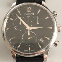Tissot Tradition Сталь 42mm Черный Aрабские