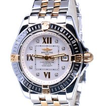 Breitling Cockpit Lady Gold/Steel 32mm Silver Roman numerals