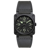 Bell & Ross BR 03-92 Ceramic BR0392-BL3-CE/SCA New Ceramic Automatic