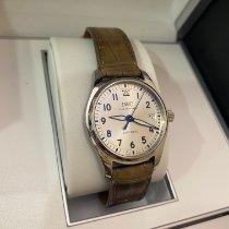 万国 Pilot's Watch Automatic 36 钢 36mm 银色 阿拉伯数字 中国, 宁波