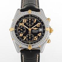 Breitling Blackbird B13350 Very good Gold/Steel 40mm Automatic