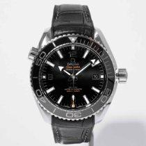 Omega Seamaster Planet Ocean Steel 43.5mm Black Arabic numerals United States of America, Massachusetts, Boston
