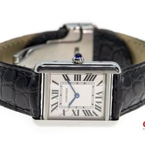 Cartier Tank Solo Steel 24mm Silver Roman numerals United States of America, New York, Brooklyn