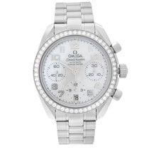 Omega Speedmaster Ladies Chronograph Steel 38mm Mother of pearl Arabic numerals