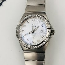 Omega White gold Automatic 31mm new Constellation