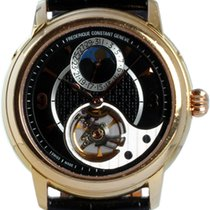 Frederique Constant Manufacture Heart Beat Yellow gold 42mm Black