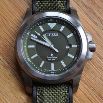 Citizen Promaster Land Steel 42mm Green United States of America, Maryland, COLUMBIA