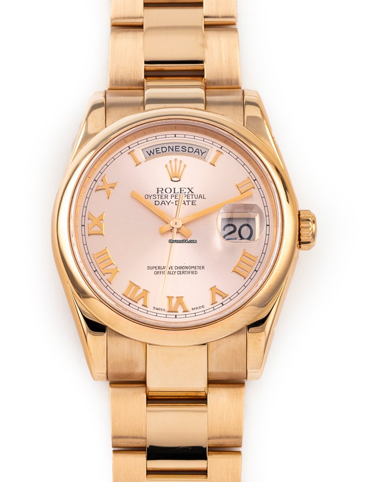 Rolex Day-Date 36 118235 2002 pre-owned