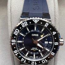 Oris Aquis GMT Date Steel 43.5mm Blue No numerals United States of America, Texas, San Antonio